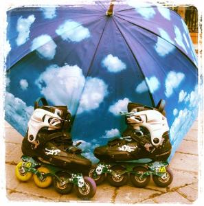 Patinaje en lluvia - Club Tres60