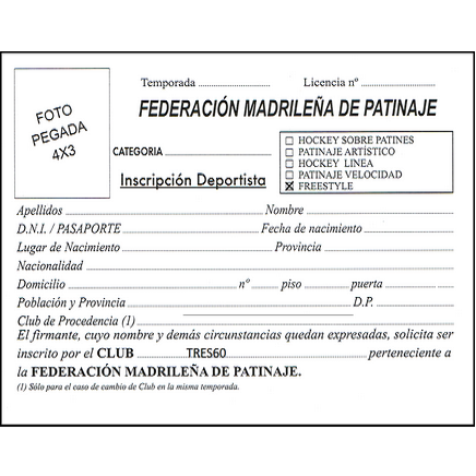 ficha-federación madrileña