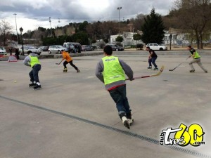 patinaje hockey