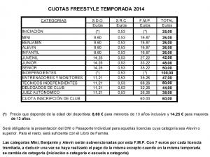 lesionarse patinando_ precio licencias 2014