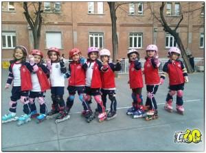 patinaje en el colegio_blanca de castilla