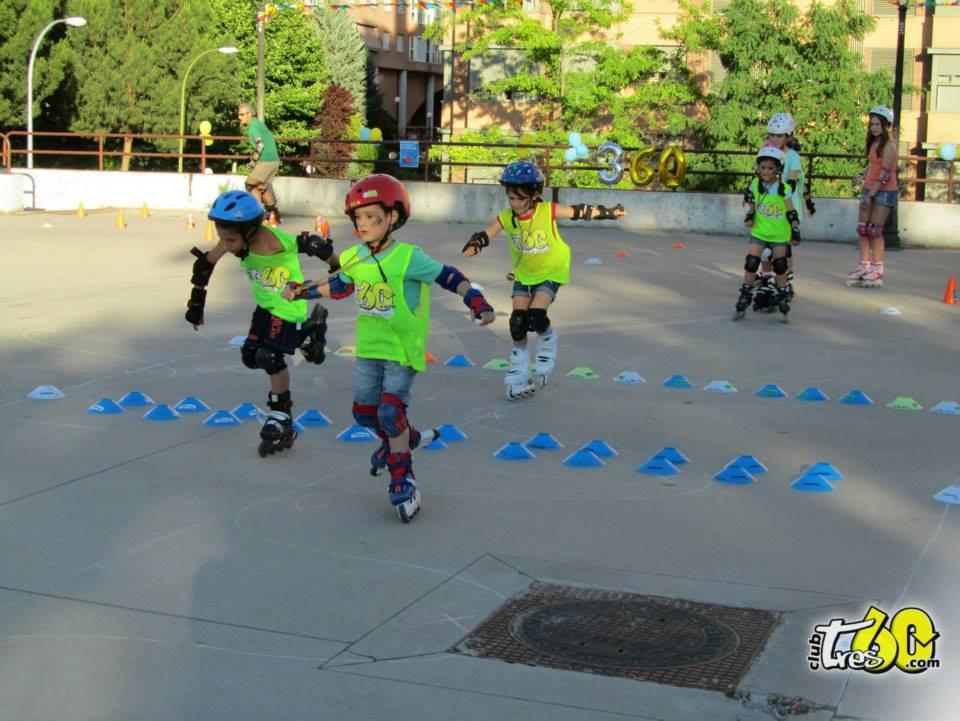 patinaje madrid tres60 skatecross niños