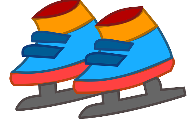 patines hielo cartoon