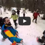 raquetas de nieve_video tres60