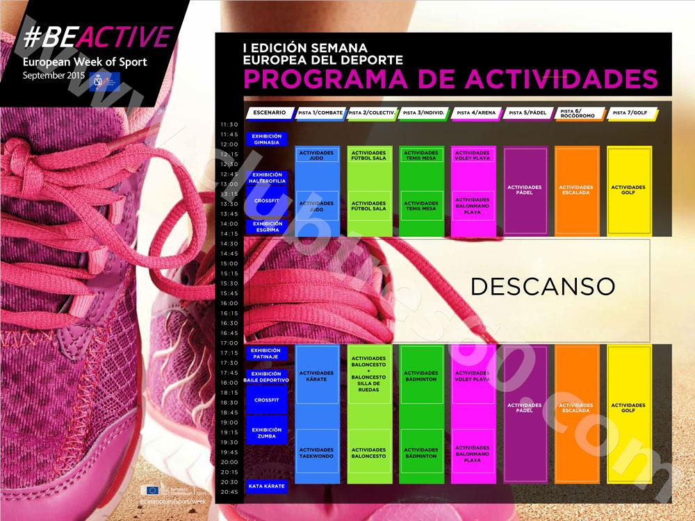 semana-europea-del-deporte-programa