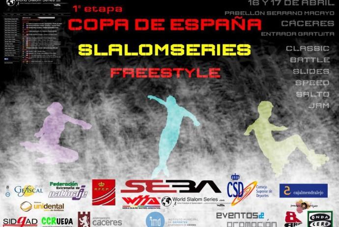 I Etapa Copa España Slalom Series Caceres 2016