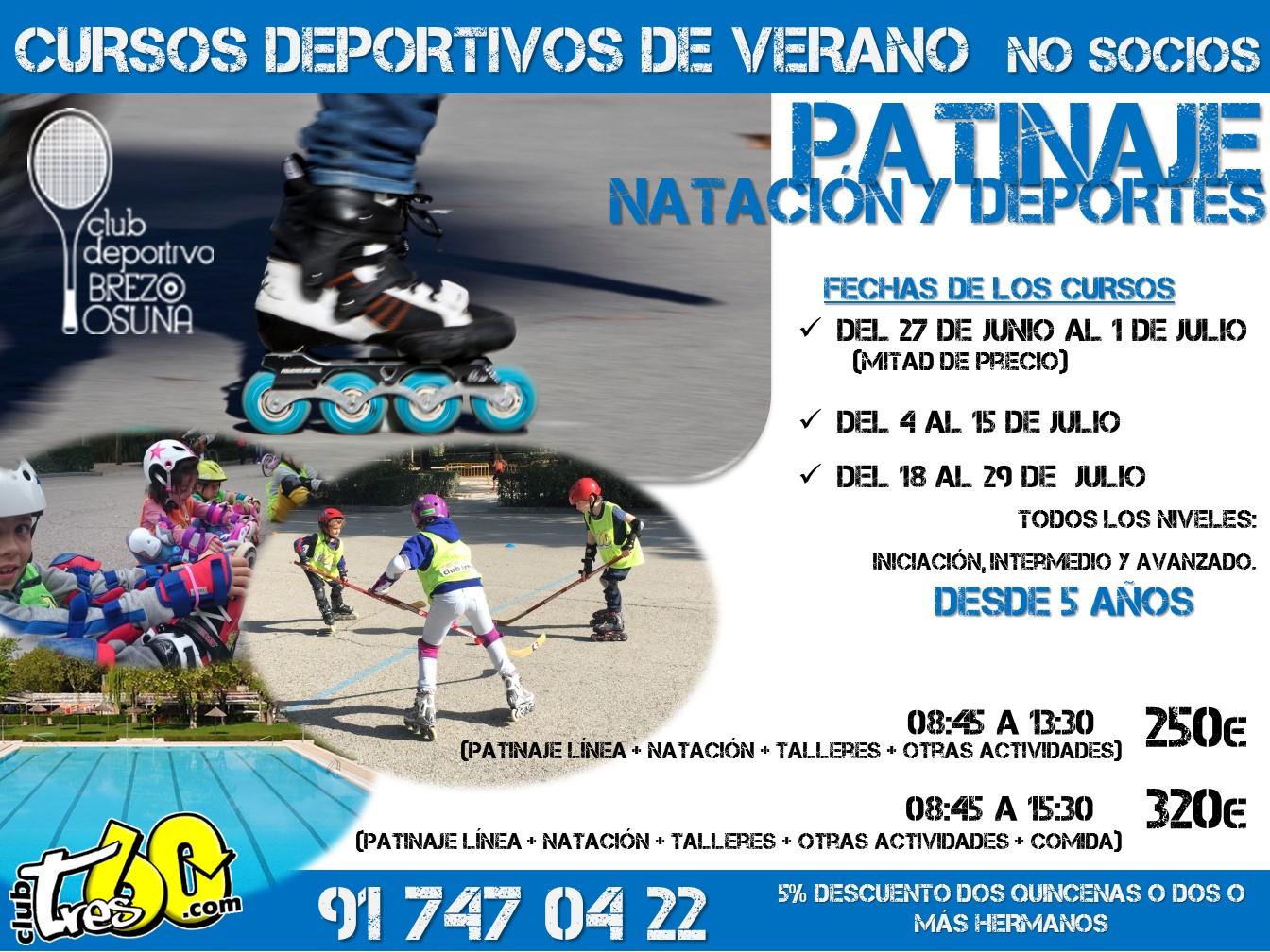 Campamento de patinaje linea madrid tres60