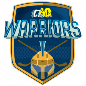 Equipo de hockey warriors-tres60-logo-400x400