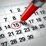Calendario regular patinaje línea 2018-19