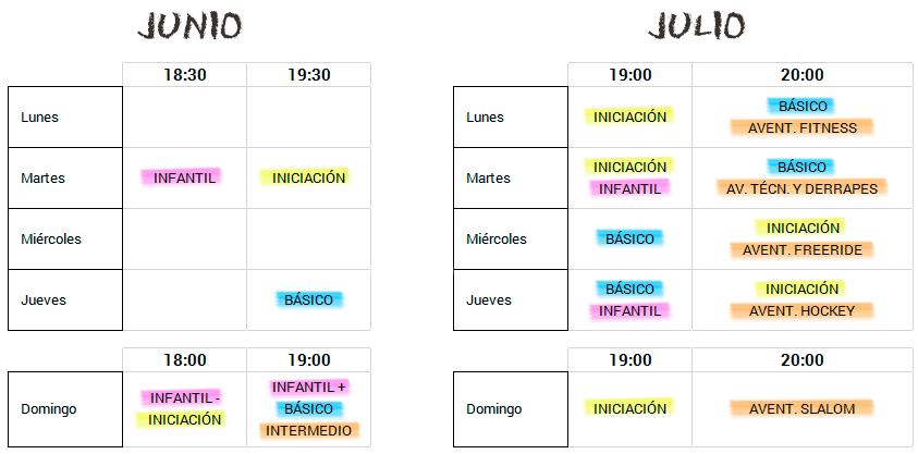 HORARIOS-CLASES-INTENSIVOS-VERANO-2017