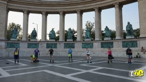 Patinar Budapest - Crónica viaje Budapest On Wheels2