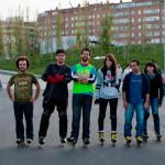 Entrenamientos patinaje – Pista Las Tablas