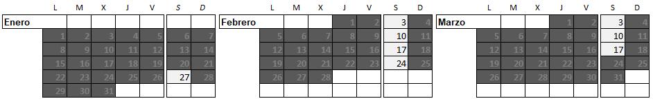 Calendario 2T Aprender a patinar en Mirasierra