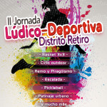 Tres60 en la II Jornada Deportiva Distrito Retiro
