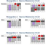 Calendario regular patinaje línea 2020-2021