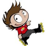 Equipación para entrenamiento de patinaje